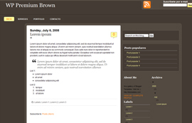WP Premium Brown